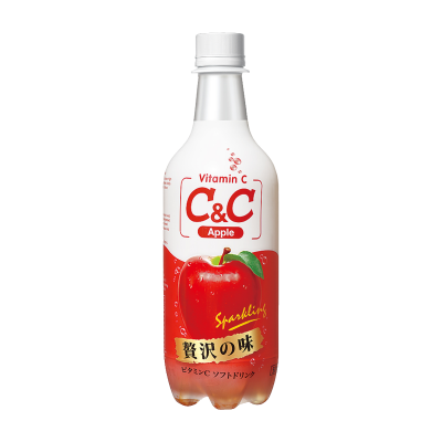 [C&C] Apple Sparkling Drink 500ml