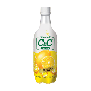 [C&C] Lemon Sparkling Drink 500ml
