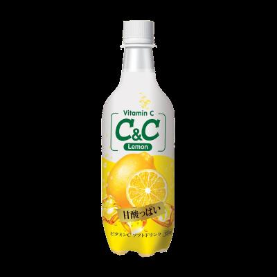 [C&C] Lemon Sparkling Drink 500ml