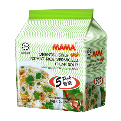 [Mama] Clear Soup Rice Vermicelli 55G