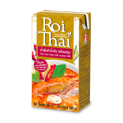 [Roi Thai] Tom Yum Soup With Coconut Milk