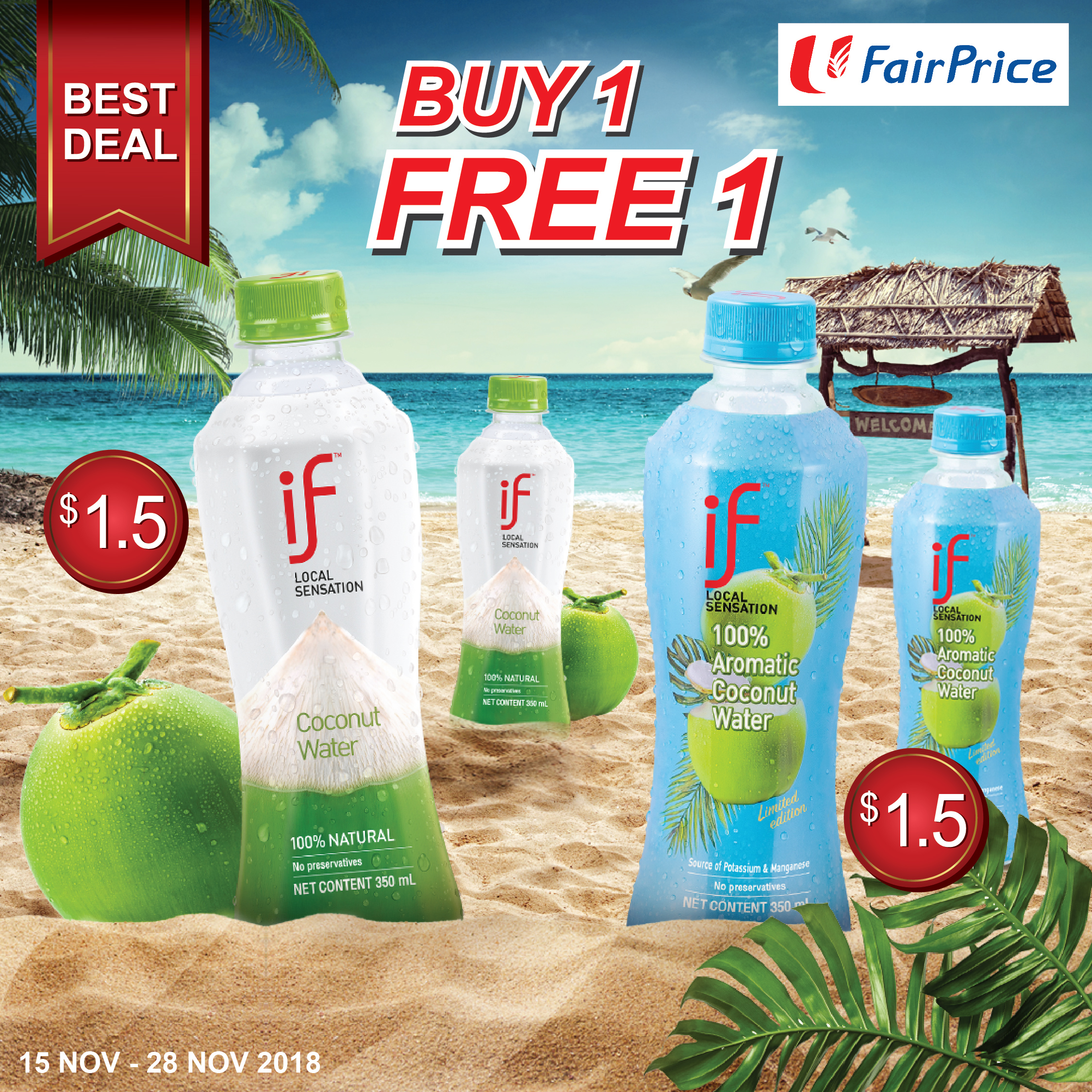 [Fairprice] IF Local Sensation BUY 1 FREE 1
