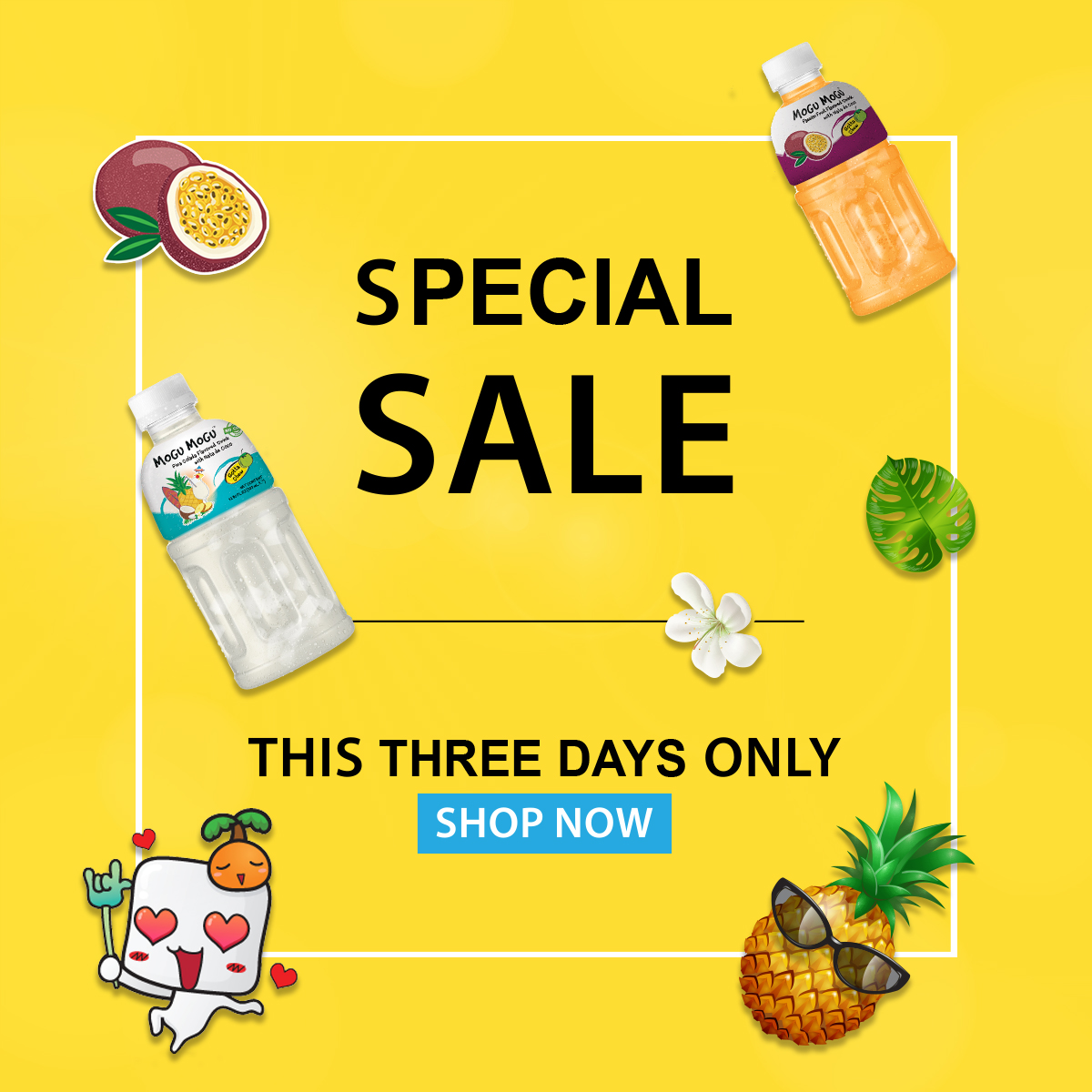3 Days Special Deal [Mogu Mogu 320ml]