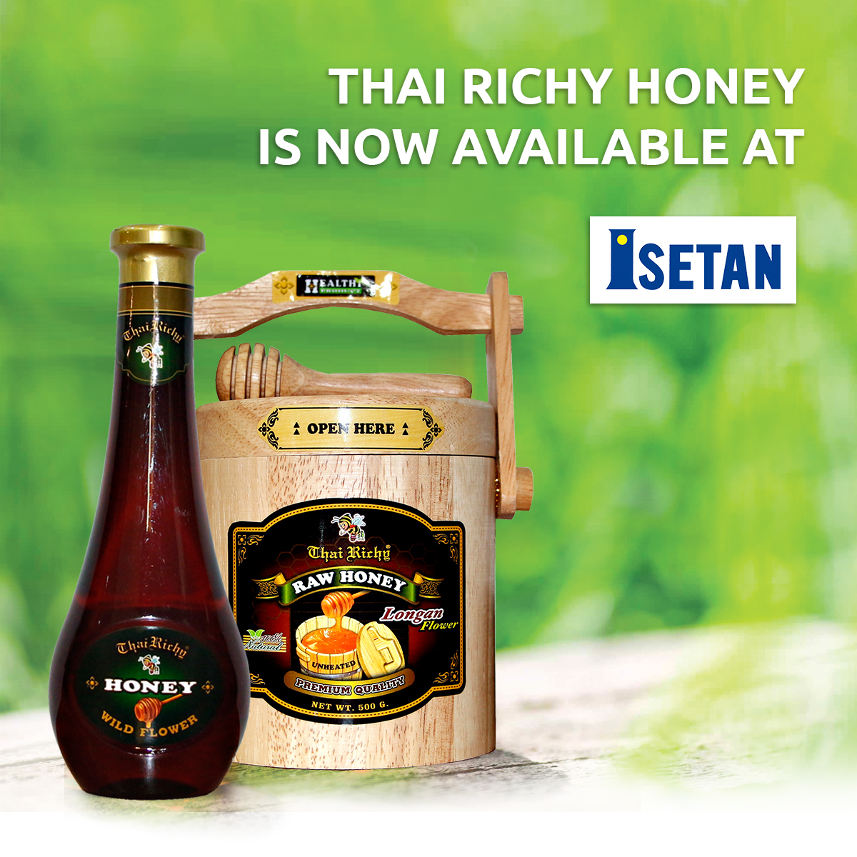 Thai Richy Honey Available at Isetan
