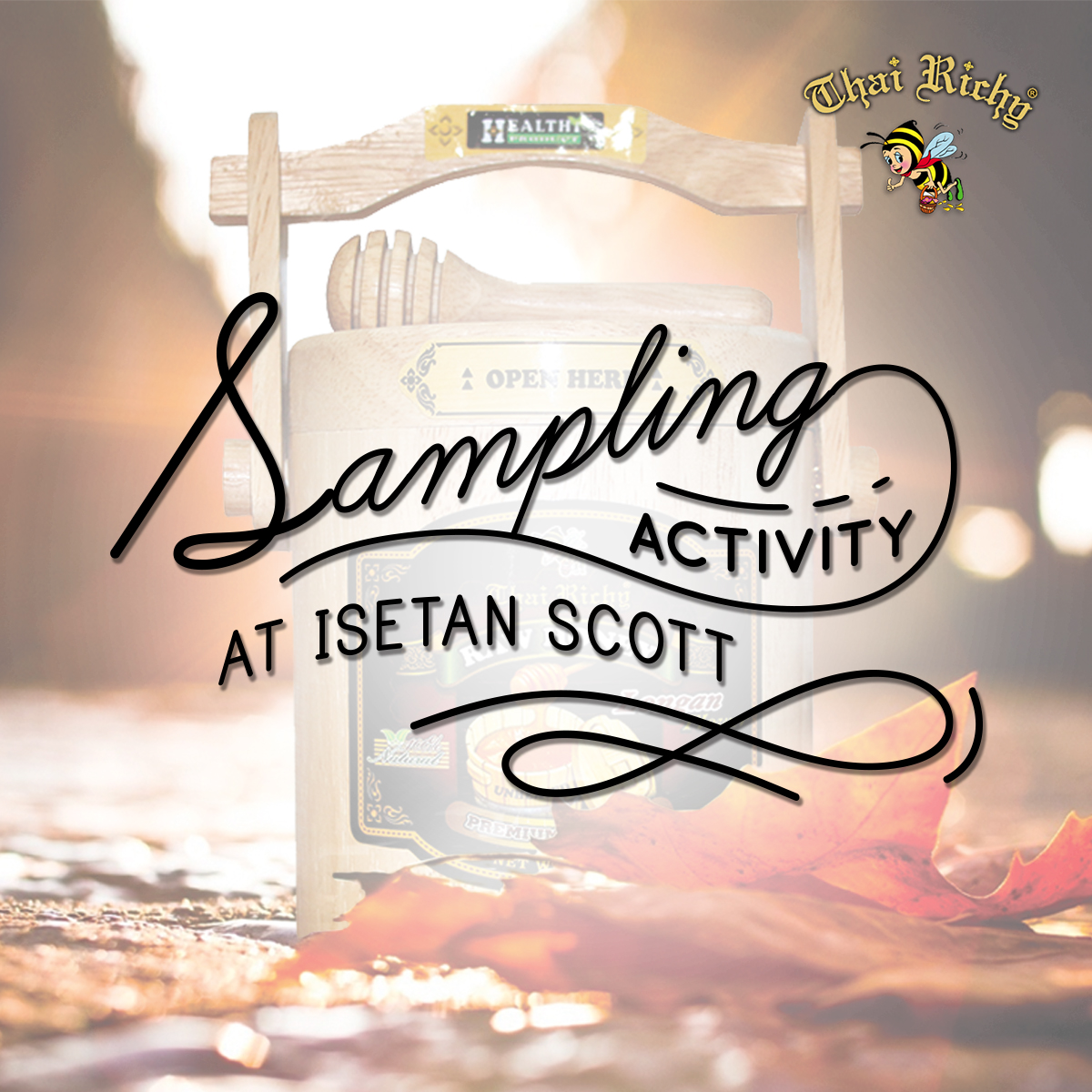 Thai Richy Sampling Activity at Isetan Scotts