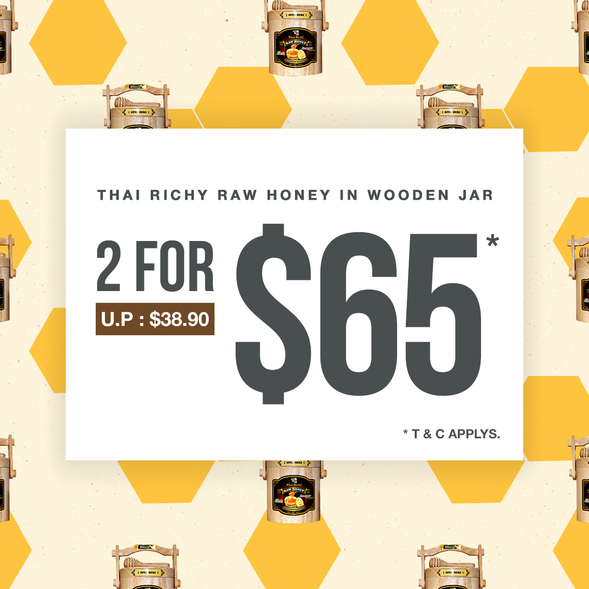 Thai Richy Raw Honey 3 Days Special
