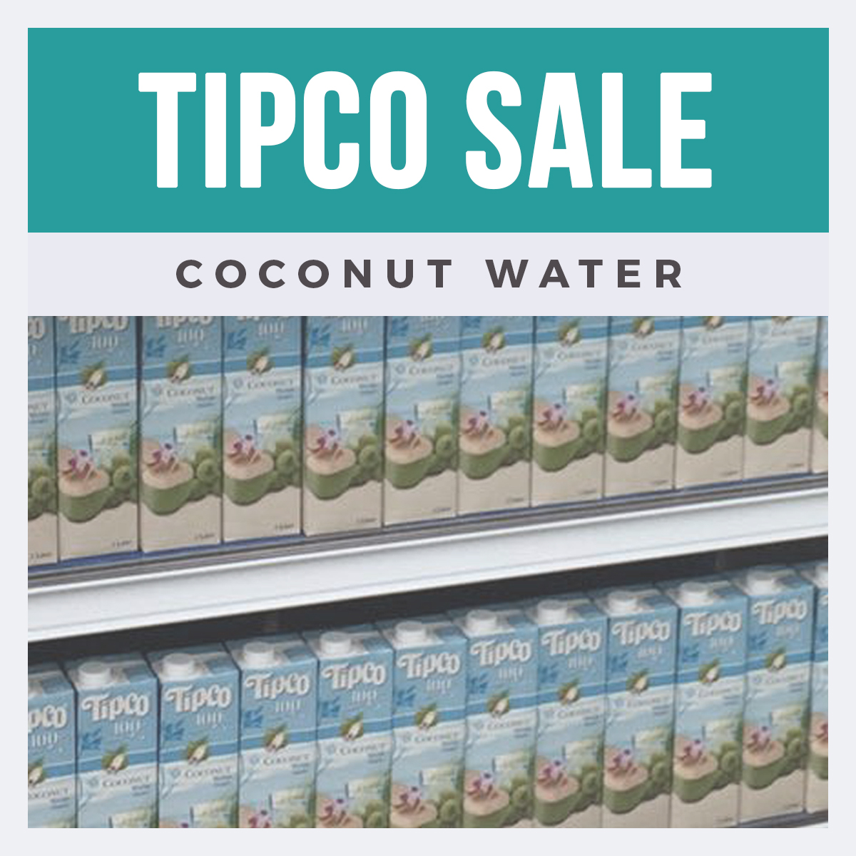 Tipco Coconut Water Sale